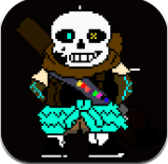 Inktale Ink Sans Dash